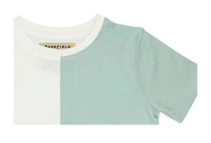 T-Shirt im Colorblocking-Design