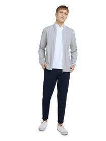 cropped slim jersey chino