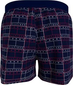 Baumwoll-Boxer-Shorts mit Branding