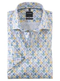 Hemd mit Allover Print