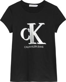 Slim T-Shirt mit Metallic-Logo