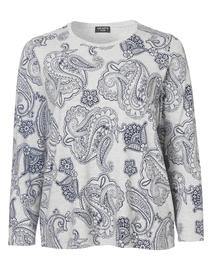 Sweatshirt Rundhals 1/1 Arm Druck