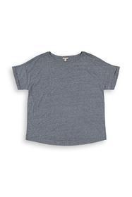 CURVY Recycelt: T-Shirt aus Materialmix