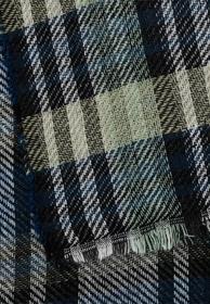 Karierter Schal aus Synthetik
