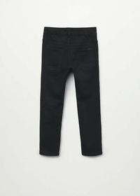 Jeans mit Stretchbund und Kordel