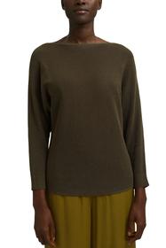 U-Boot-Pullover aus Organic Cotton/TENCEL™