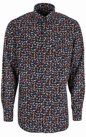 Shirt mit Alloverprint