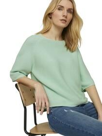 structured raglan pullover