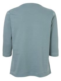 Sweatshirt Rundhals 3/4 Arm Motiv