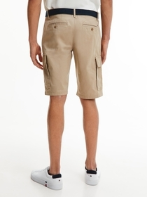 Slim Fit Cargo-Shorts mit Gürtel