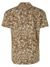Shirt Short Sleeve Resort Collar All Over Printed