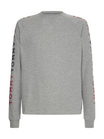 Lounge-Trainings-Sweatshirt mit Stickerei
