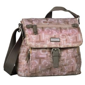 RINA TT, Flap bag M no zip, printed grey