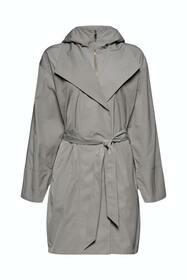 Leichter Mantel mit Kapuze