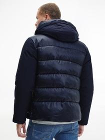 Tech Mix Media Hooded Jacket