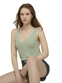 structured knitted top