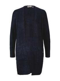 cozy long cardigan