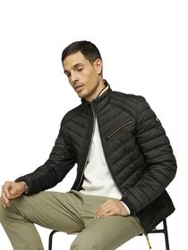 material mix hybrid jacket