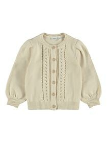 NMFOTRILLE LS KNIT CARD