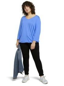 T-shirt loose knit