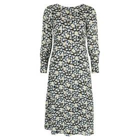 Dress, feminine style, round neck,