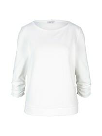 Sweatshirt boat neck
