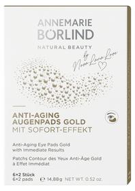 Anti Aging Augenpads Gold 6x2 Stück