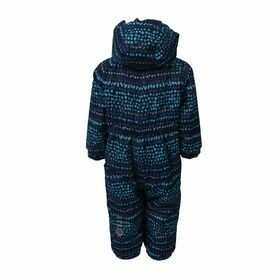 Rimah mini padded coverall AOP Air-flo