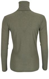 Rollkragenshirt aus Tencel™ & Wolle
