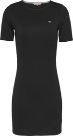Kleid mit Logostickerei
