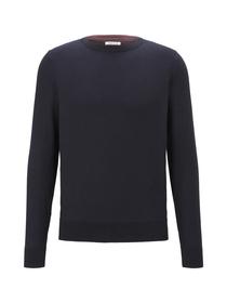modern basic structure sweater