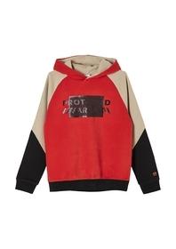 Weicher Colour Blocking-Sweater