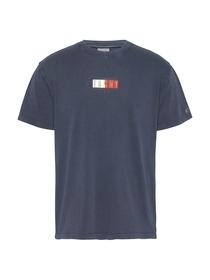T-Shirt mit Vintage-Logos vorne und hinten