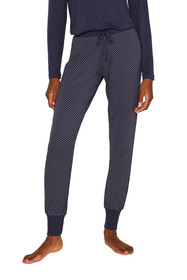 Navy Mixmatch Jersey-Pants
