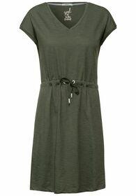 Kleid mit Streifen Muster