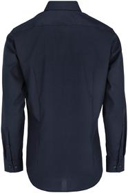 Bügelfreies Popeline Business Hemd in Shaped mit Kentkragen