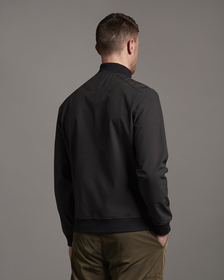 "Jacke ""Softshell Funnel Neck Zip Through Sweatshirt"""