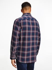 TH Flex Regular Fit Schottenkaro-Hemd