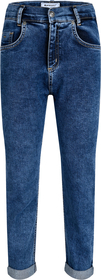 Girls Cropped Balloon Fit Jeans