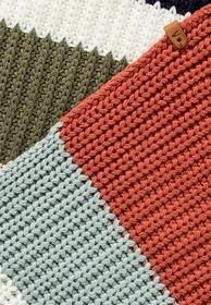 Multicolor Strickschal