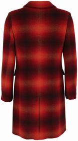 Klassischer Mantel mit Schattenkaro