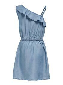 KONHENNA FRILL DNM DRESS