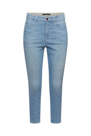 Cropped Stretch-Jeans