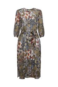 Blusenkleid aus Chiffon mit Print