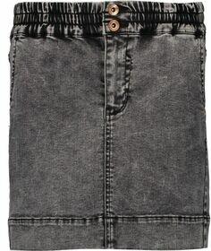 Jeansrock mit elastischem Taillenbund