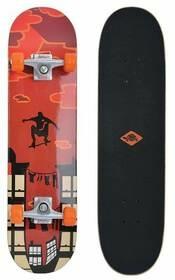 "Skateboard ""Kicker - Red Parkour"""
