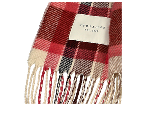 scarf double sided check