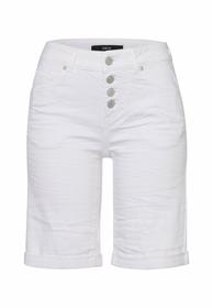Shorts mit Knopfleiste Knielang