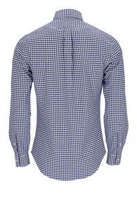 Slim Fit Karo Oxford Hemd