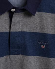 Rugby Shirt mit Streifen